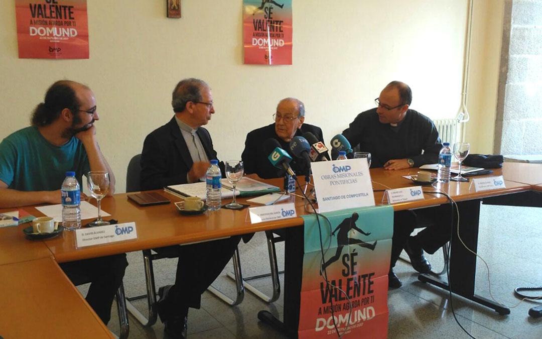 Misionero centenario presenta el Domund en Galicia