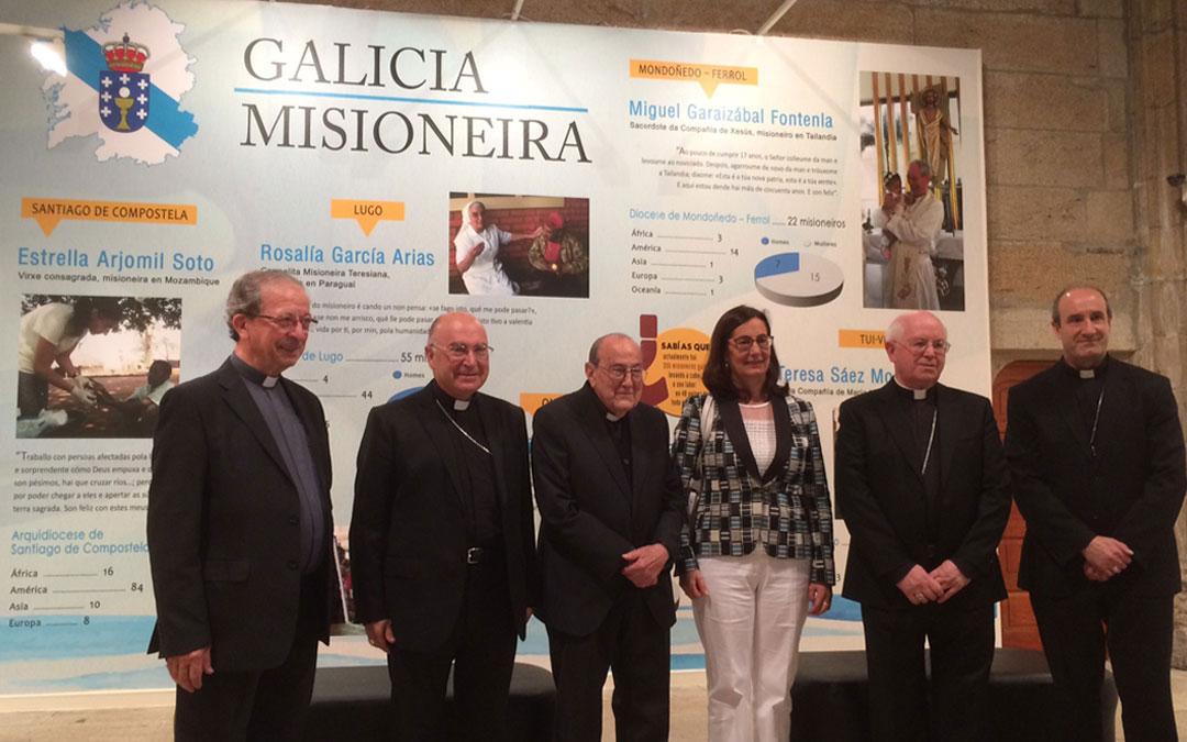 Exposición del Domund en Galicia