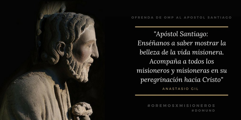 Ofrenda OMP al Apóstol Santiago