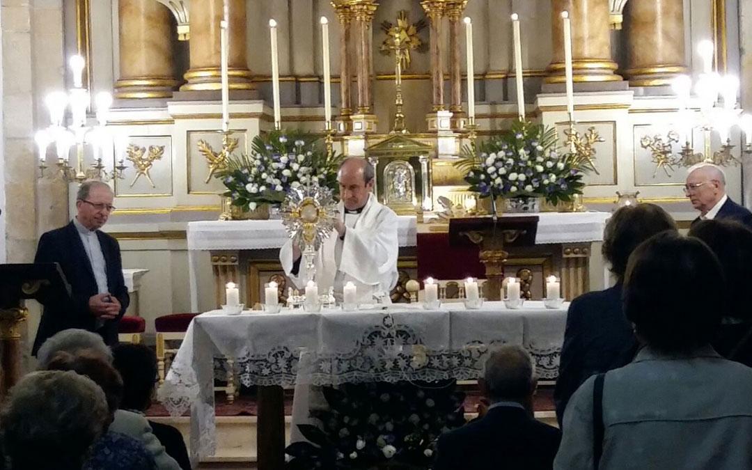 Vigilia de oración en Pontevedra
