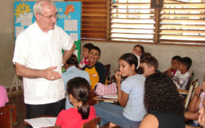 Ángel Garachana, obispo de San Pedro de Sula-Honduras