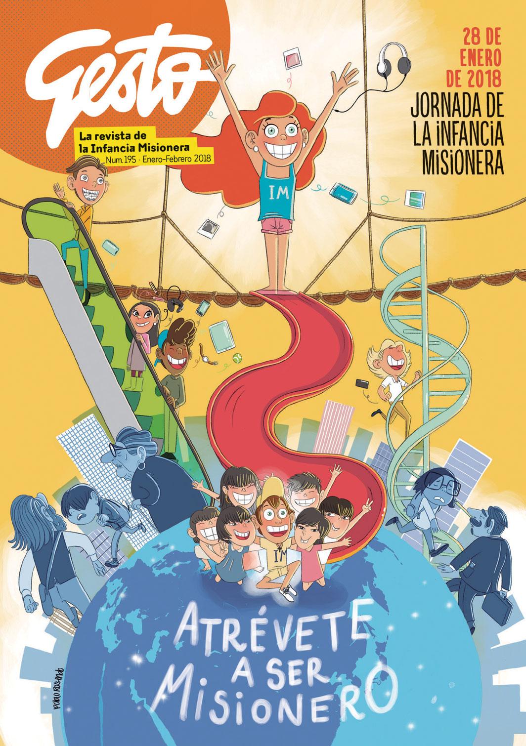 Revista Gesto - Niños