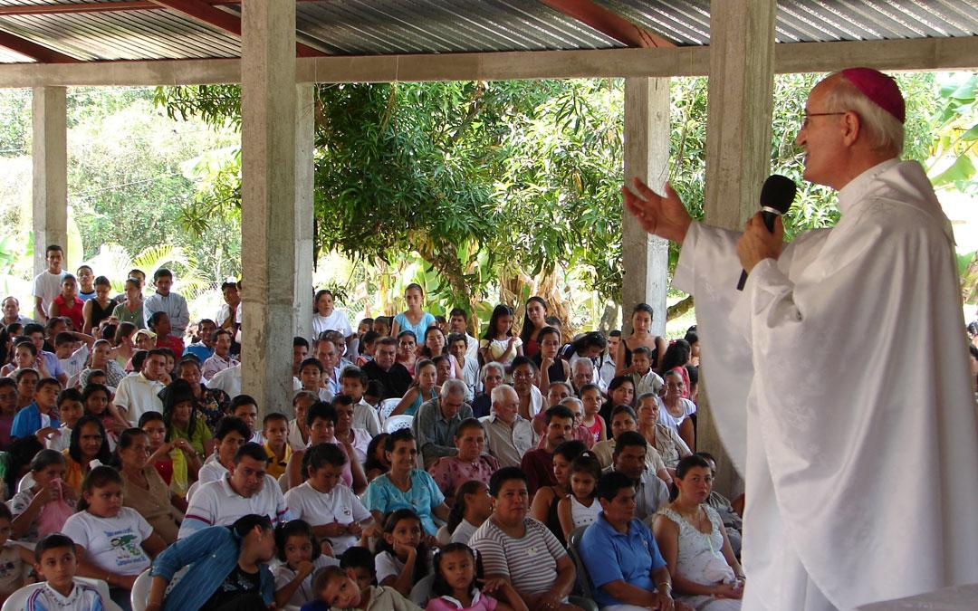 """""""Misioneros por el Mundo"""" en Honduras"""