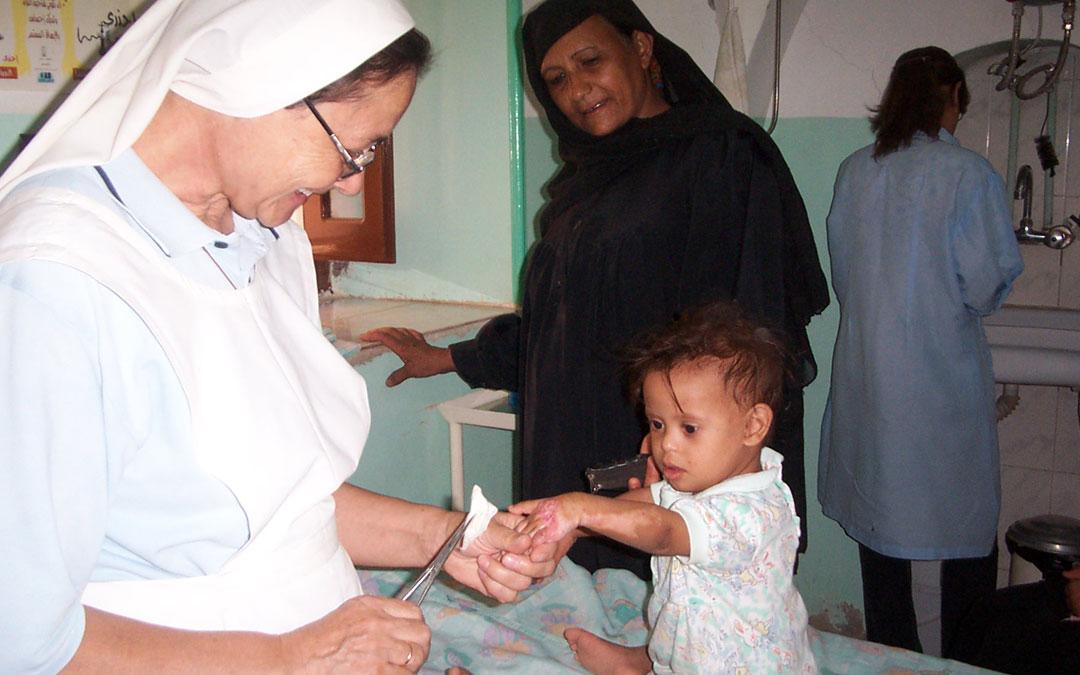 El Papa valora el trabajo de los misioneros en la Jornada Mundial del Enfermo