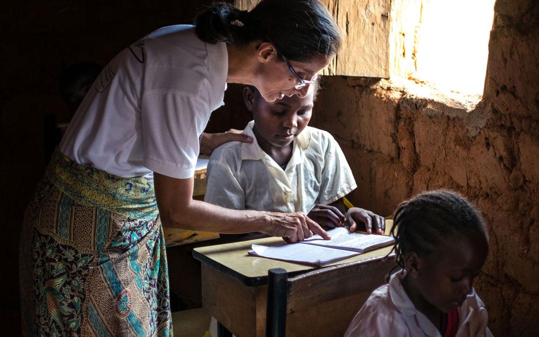 """""""Misioneros por el Mundo"""" en Balombo, Angola"""