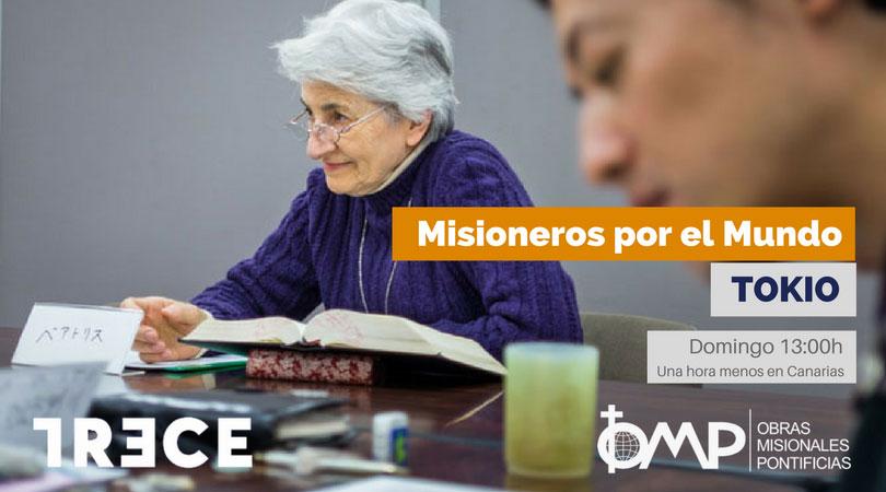 """""""Misioneros por el Mundo"""" en Tokio"""
