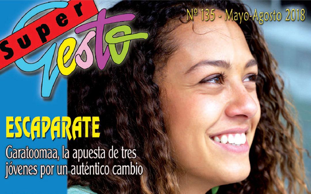 Los trabajos del pre-sínodo de los jóvenes en el nuevo número de Supergesto