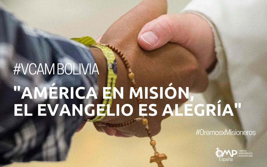 """V Congreso Americano Misionero: """"América en Misión, el Evangelio es alegría"""""""