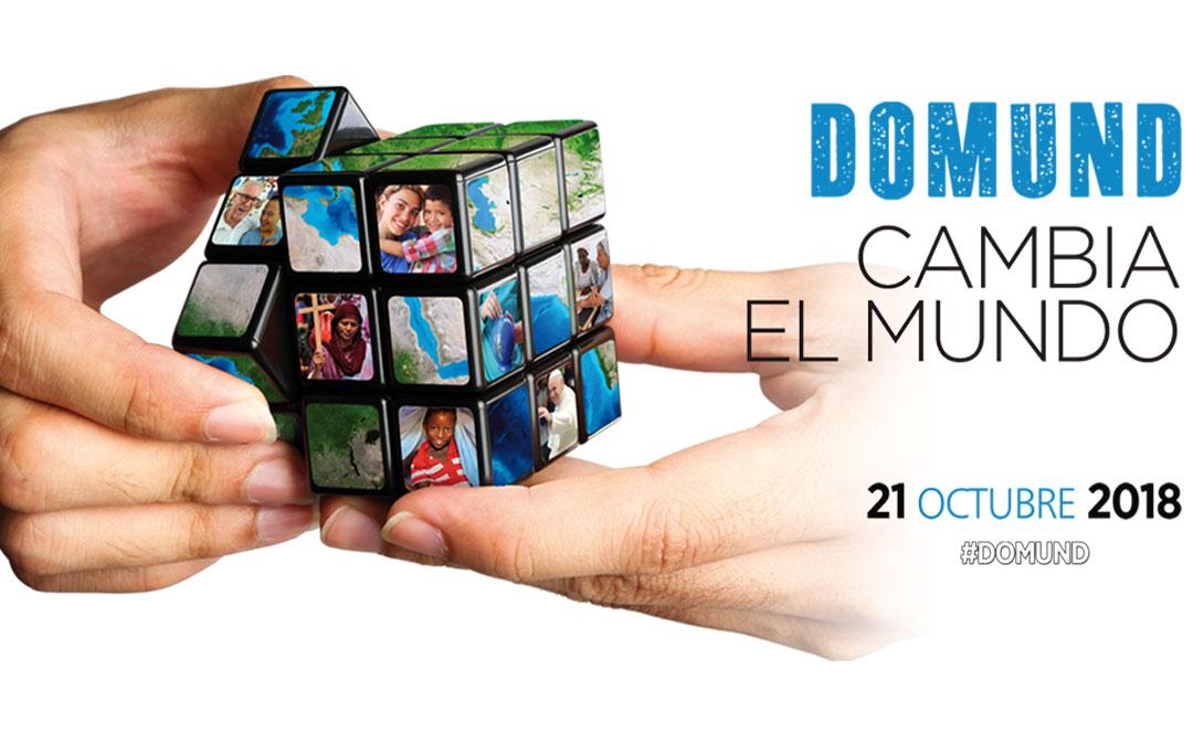 """El Domund 2018 te invita: """"Cambia el mundo"""