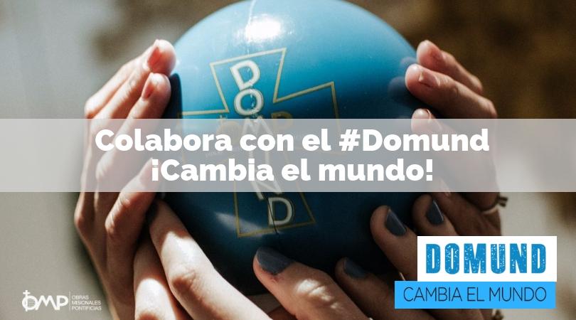 El cambio del Domund es posible ¡Colabora con un donativo!