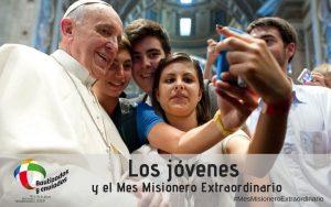 Los jóvenes y el Mes Misionero Extraordinario