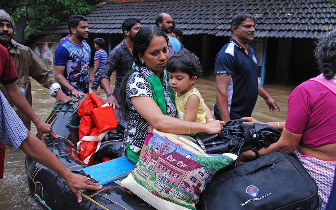 Obras Misionales Pontificias pide ayuda de emergencia para las diócesis de Kerala y Karnataka en la India devastadas por las lluvias torrenciales.