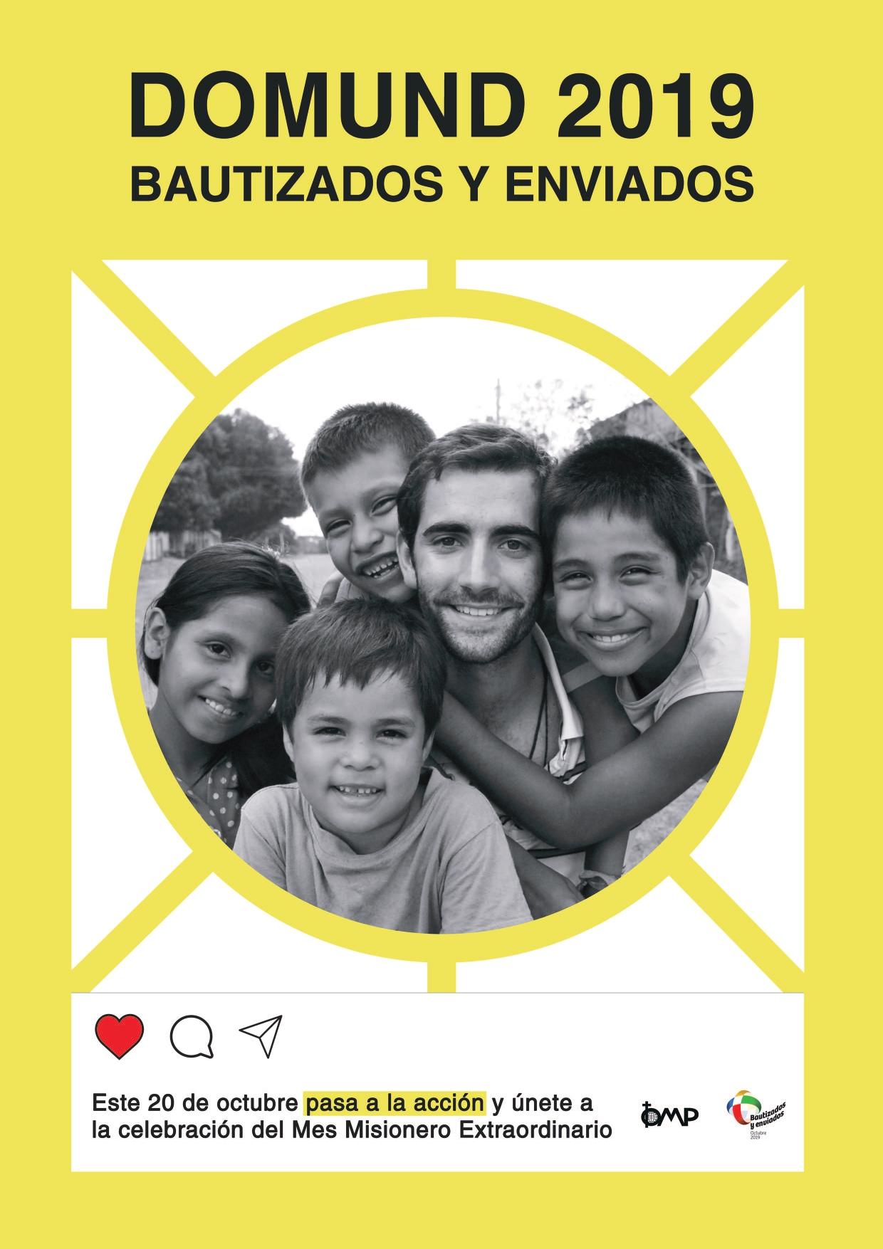 Resultado de imagen de imagenes cadena de bondades octubre mes misionero extraordinario para niños