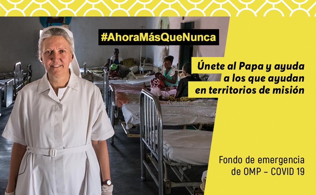 España se une al Fondo de Emergencia de OMP abierto por el Papa
